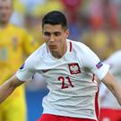 Bartosz Kapustka is still waiting for his chance at Leicester