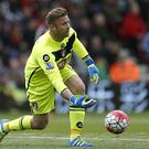 Bournemouth goalkeeper Artur Boruc, pictured, worked with Mauricio Pochettino at Southampton