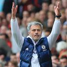 Jose Mourinho led Chelsea to three Premier League titles