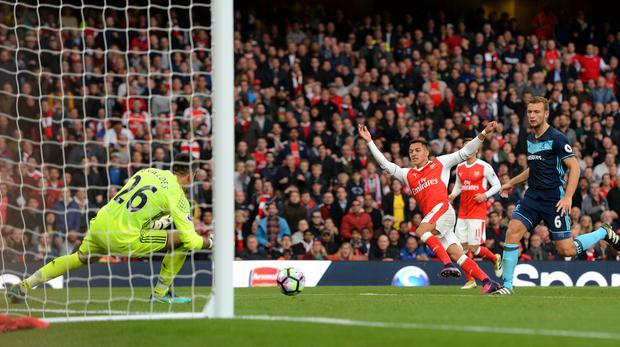 Arsenal suffered a frustrating afternoon at the Emirates
