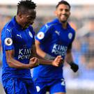 Leicester had reason to celebrate again on Saturday