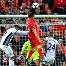 Liverpool moved into top two with victory over West Brom