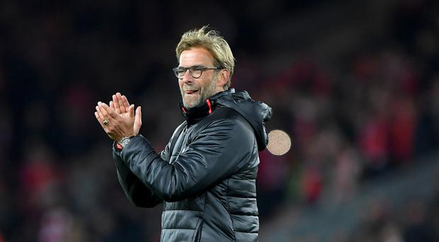 Liverpool manager Jurgen Klopp hailed the Anfield crowd and his team's performance after their victory over West Brom
