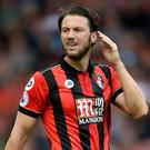Harry Arter, pictured, clashed with Tottenham's Moussa Sissoko on Saturday