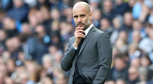 Manchester City manager Pep Guardiola has some head scratching to do after five games without a win