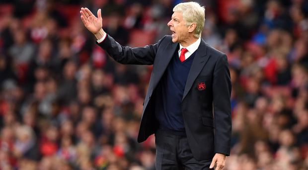 Arsene Wenger's contract runs out at the end of the season