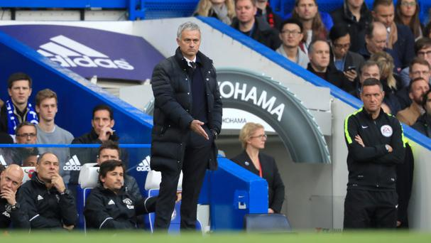 Jose Mourinho's Manchester United fell to a heavy defeat on his return to Chelsea
