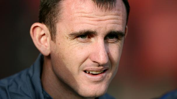 Francis Jeffers is back at Everton