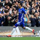 Spanish forward Pedro scored the opening goal to get Chelsea off to a flying start against Manchester United on Sunday