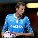 Peter Crouch has only started two matches for Stoke this season