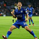 Leicester boss Claudio Ranieri appreciates Shinji Okazaki's hard work