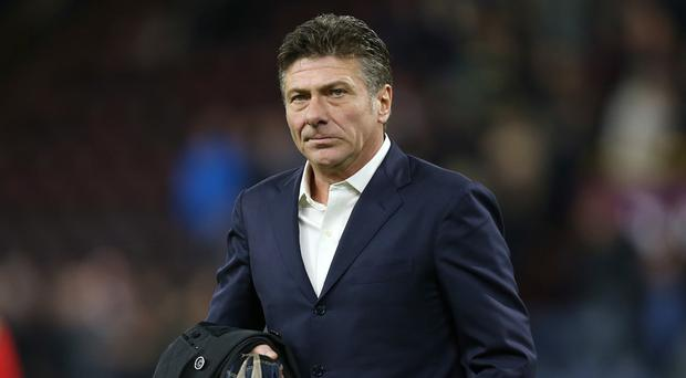 Watford manager Walter Mazzarri is in his first season in charge of the club