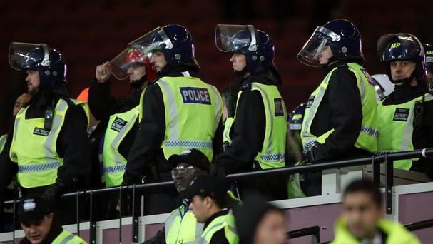 West Ham's EFL Cup game with Chelsea was marred by crowd trouble