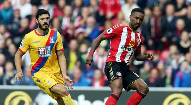 Jermain Defoe (right) is refusing to allow Sunderland's Premier League plight to get him down