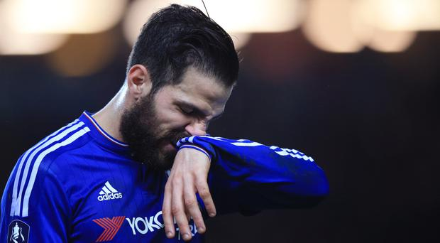 Cesc Fabregas is out of favour at Stamford Bridge