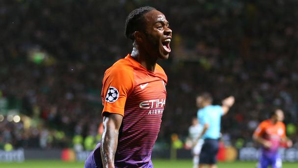Raheem Sterling, pictured, has been rejuvenated under Pep Guardiola