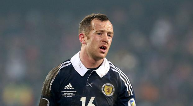 Charlie Adam has not featured for Scotland in the last 18 months