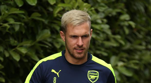 Aaron Ramsey is raring to go for Sunday's Premier League clash with Tottenham