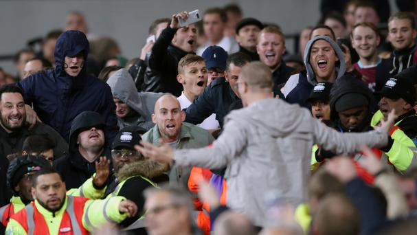 Stoke's visit to the London Stadium will be the first game there since West Ham's EFL Cup win against Chelsea which was overshadowed by crowd trouble.