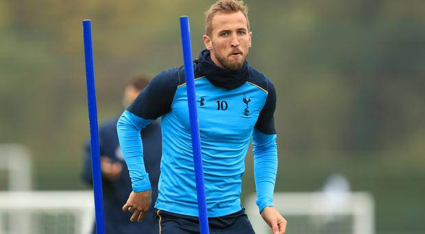 Tottenham striker Harry Kane is in contention to face Arsenal on Sunday