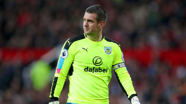 Burnley goalkeeper Tom Heaton has impressed this season