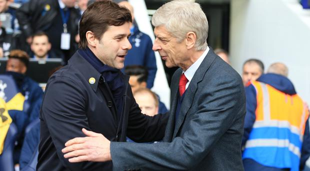 Arsenal take on Tottenham in the Premier League on Sunday
