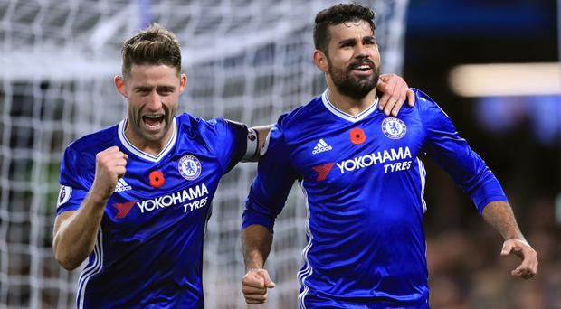 Chelsea thrashed Everton at Stamford Bridge