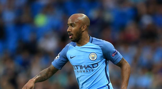 Fabian Delph has made only one start for Manchester City this season