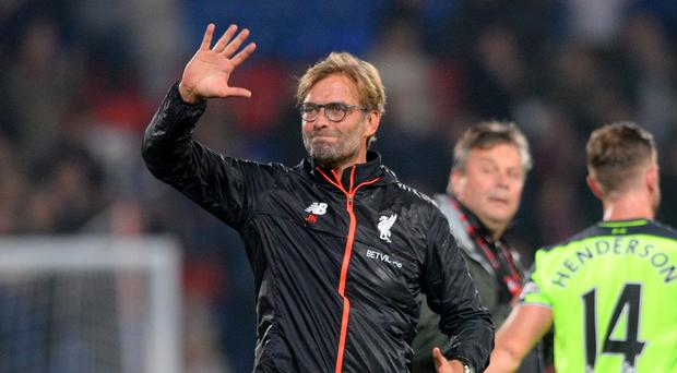 Jurgen Klopp's Liverpool side are top of the Premier League
