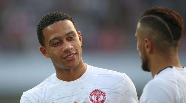 Manchester United's Memphis Depay is currently out of favour