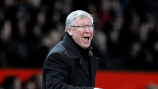 Manchester United manager Sir Alex Ferguson says he rarely unleashed the 'hairdryer' treatment