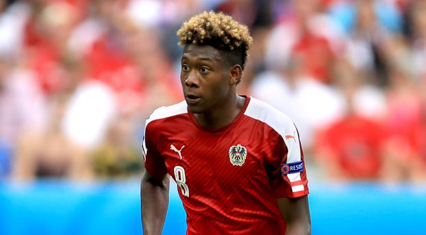 David Alaba is one of the biggest stars in Austria's side