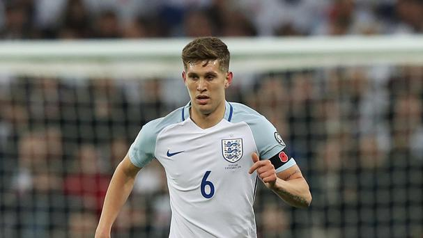John Stones, pictured, is seeking the right balance between bravery and stupidity, according to Gareth Southgate