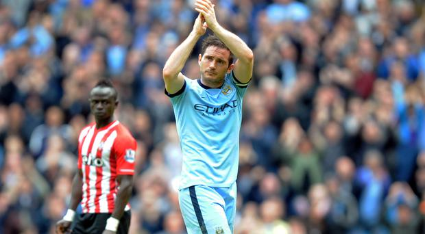 Frank Lampard is saying goodbye in New York