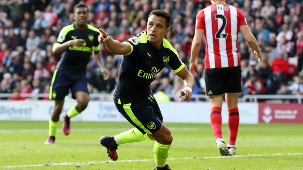 Alexis Sanchez has been in superb form for Arsenal this season
