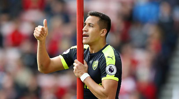 Arsenal will be hoping Alexis Sanchez, who had been carrying a hamstring problem, comes back from international duty ready to face Manchester United in the Premier League on Saturday