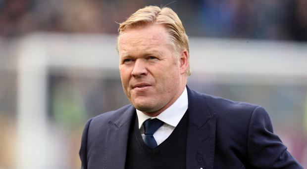 Ronald Koeman, pictured, has clarified his comments about Romelu Lukaku