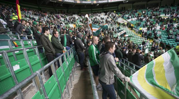 Celtic have trialled safe-standing