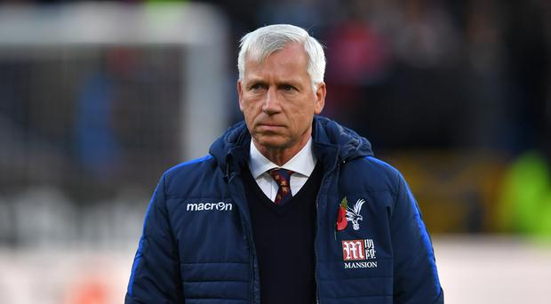 Crystal Palace manager Alan Pardew spoke out about his shock