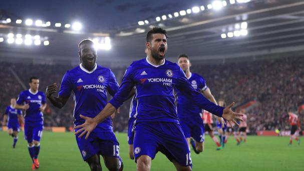 Diego Costa is in fine form for Chelsea
