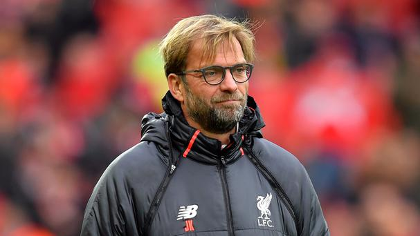 Liverpool manager Jurgen Klopp sees no advantage from being top of the Premier League at this stage of the season