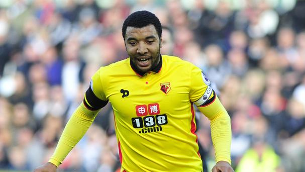 Watford striker Troy Deeney was a Leicester target in the summer