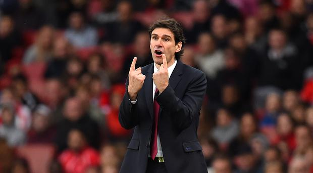 Aitor Karanka is relishing his side's clash with Chelsea on Sunday