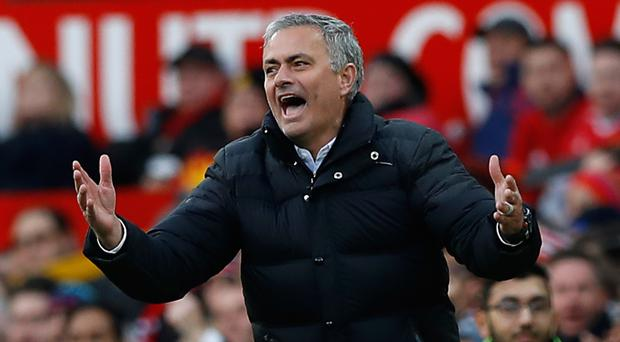 Jose Mourinho and Manchester United endured a frustrating afternoon against Arsenal