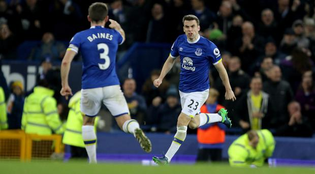 Seamus Coleman rescued a point for Everton