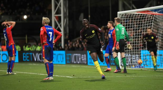 Yaya Toure came in from the cold to fire Manchester City to victory