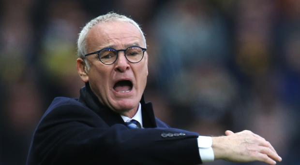 Leicester manager Claudio Ranieri was proud of his players despite the loss at Watford