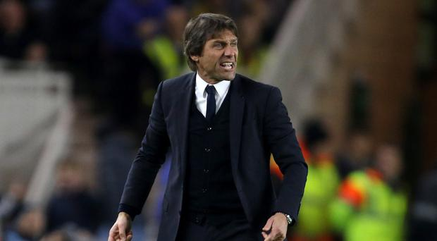 Chelsea manager Antonio Conte oversaw a sixth straight Premier League win without conceding
