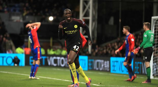 Yaya Toure made a surprise, and successful, return for Manchester City