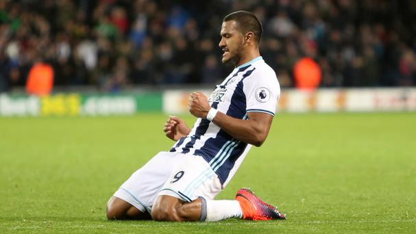 Salomon Rondon netted West Brom's fourth goal on Monday night
